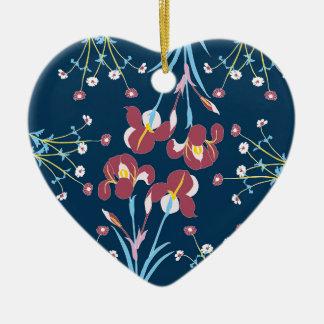 Secret Garden #2 Ceramic Heart Decoration