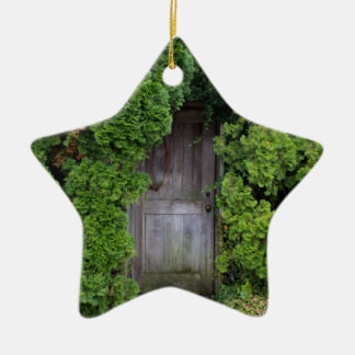 Secret Garden 2 Ceramic Star Decoration