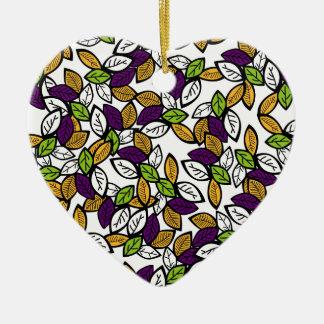 Secret Garden #6 Ceramic Heart Decoration