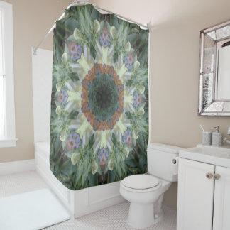 Secret Garden Mandala Shower Curtain