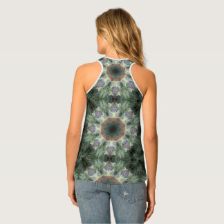 Secret Garden Mandala Tank Top