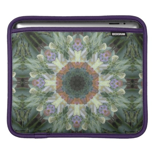 Secret Garden Rickshaw iPad Sleeve