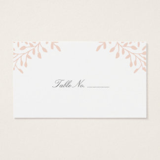Secret Garden Wedding Place Cards 100 pk