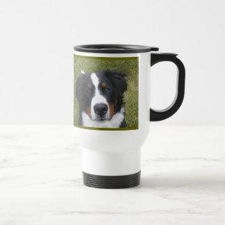 Secret Ingredient with great coffee...Berner fur! Coffee Mugs