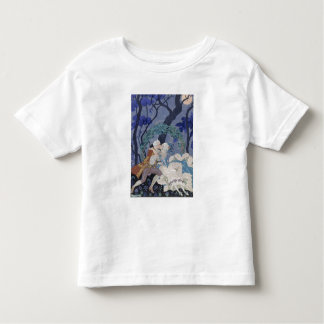 Secret Kiss, illustration for 'Fetes Galantes' by Toddler T-Shirt