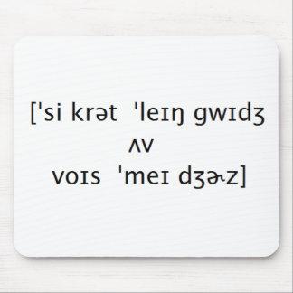 Secret Language Mouse Mat