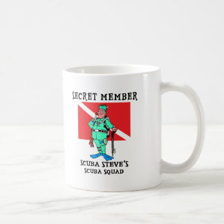 Secret Member SCUBA Steve Coffee Mug