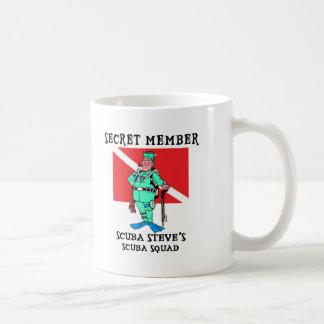 Secret Member SCUBA Steve Coffee Mug