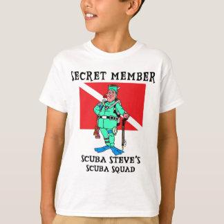 Secret Member SCUBA Steve Kids T-Shirt
