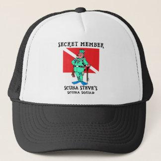 Secret Member SCUBA Steve Trucker Hat