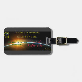 Secret Missions of Reaper Two-Six Luggage Tag