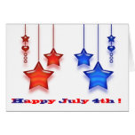 Secret pal 4th of July Greeting Card