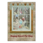 Secret Pal Day, Vintage Fairy Tale Characters Greeting Cards