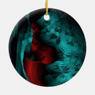 Secret Passageways Double-Sided Ceramic Round Christmas Ornament