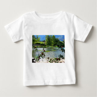 Secret pond on a beautiful sunny day t shirt