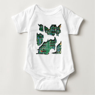 Secret Robot Baby Bodysuit