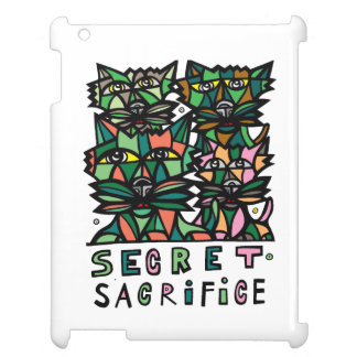 """Secret Sacrifice"" 631 Art iPad Case"