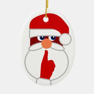 Secret Santa Christmas Tree Ornament