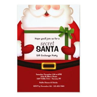 Secret Santa Holiday Party Invitation