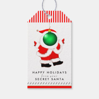 Secret Santa Humor Gift Tags