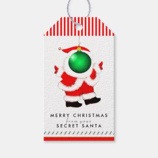 Secret Santa ideas Gift Tags