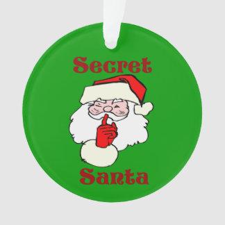 Secret Santa on Christmas Green