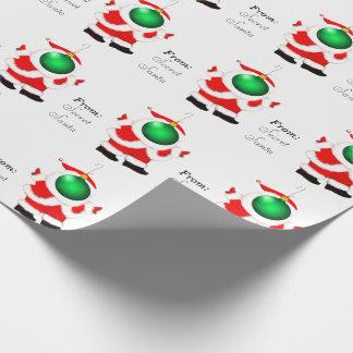 Secret Santa Wrapping Paper