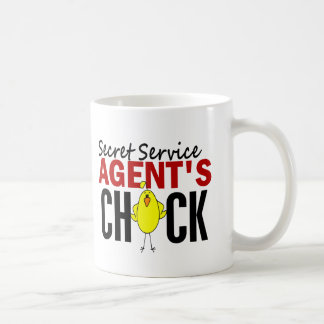 Secret Service Agent s Chick Coffee Mug