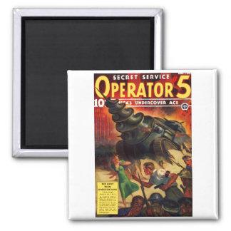 Secret Service Operator #5 Magnet