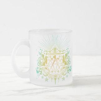 Secret Society Frosted Glass Coffee Mug
