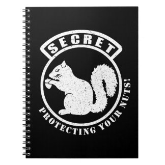 Secret Squirrel Patch Protecting Your Nuts Notebooks