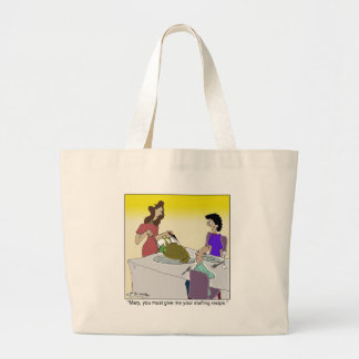 Secret Stuffing Recipe Canvas Bags