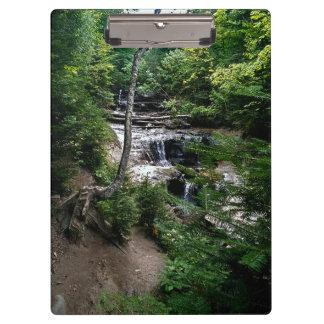 Secret waterfall clipboard