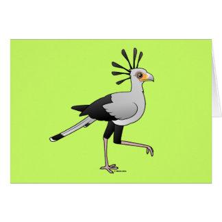 Secretary Bird Card