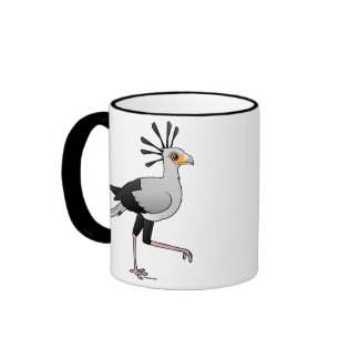 Secretary Bird Ringer Coffee Mug
