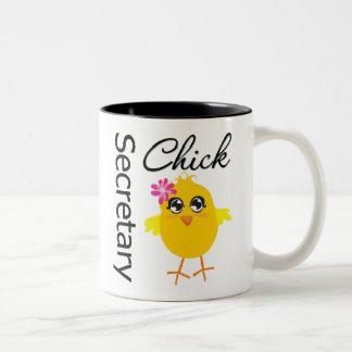 Secretary Chick Mugs