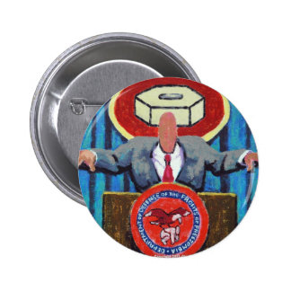 Secretary of Defence of Zomblandia! 6 Cm Round Badge