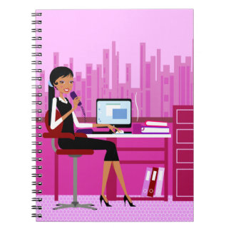 Secretary Photo Notebook (80 Pages B&W)