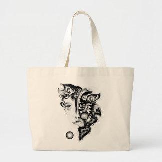Secretive Jumbo Tote Bag