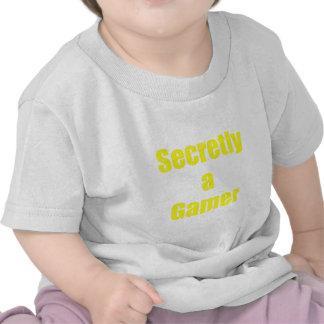 Secretly a Gamer T-shirts