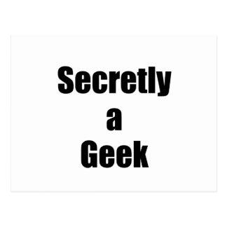 Secretly a Geek Postcard