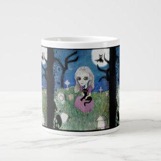 Secrets by Ohio artist Carol Ann Zeock Large Coffee Mug