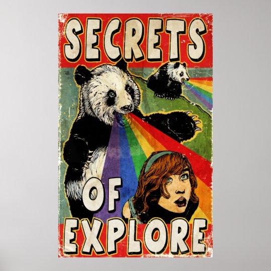 SECRETS OF EXPLORE! POSTER