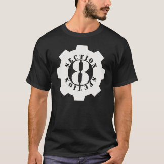 Section 8 Full Front Logo T-Shirt