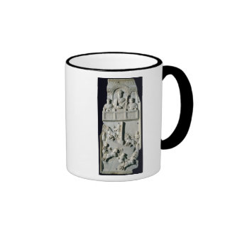 Section of a diptych ringer mug