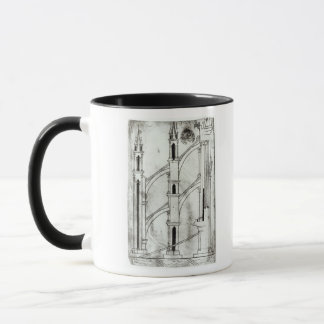 Section of the wall and arch mug