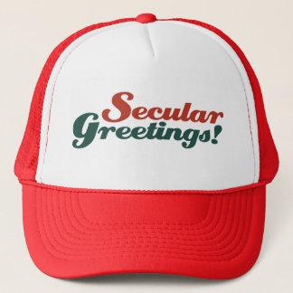 Secular Greetings Cap