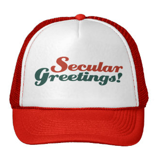 Secular Greetings Cap