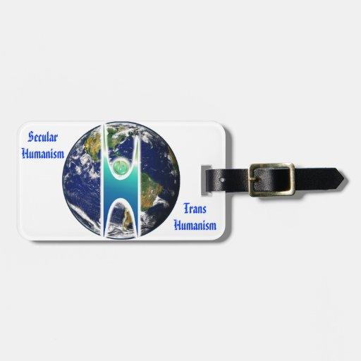 Secular H+ Earth Bag Tag