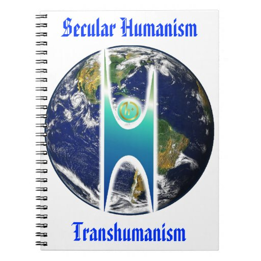 Secular H+ Earth Spiral Note Books